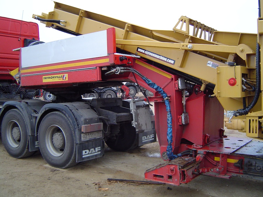 техника для перевозки негабаритных грузов по России