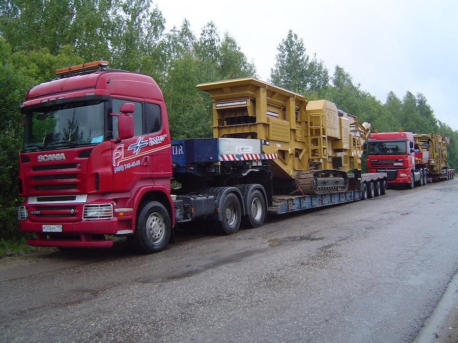 спецтехника для перевозки негабаритных грузов по России