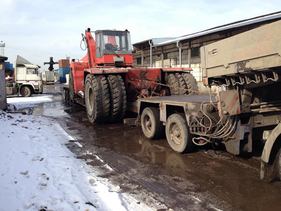 Перевозка габаритных и негабаритых грузов по Москве и МО